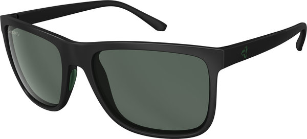 Ryders Eyewear Jackson Color | Lens: Black w/Green | Polarized Green