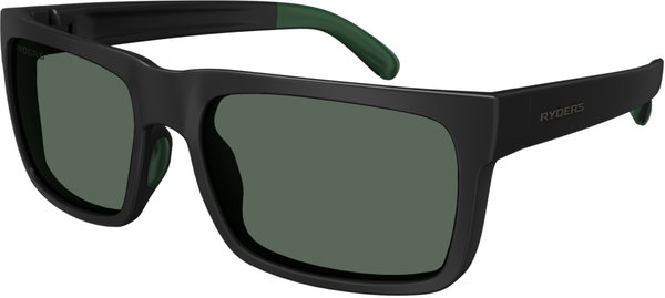 Ryders Eyewear Pemby Color | Lens: Black w/Green | colourBOOST Green