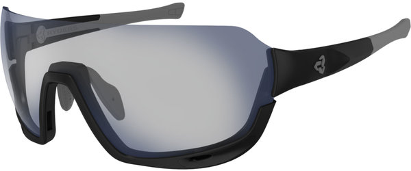 Ryders Eyewear Roam Color | Lens: Black w/Grey | FYRE Light Grey – Grey w/Blue MLV