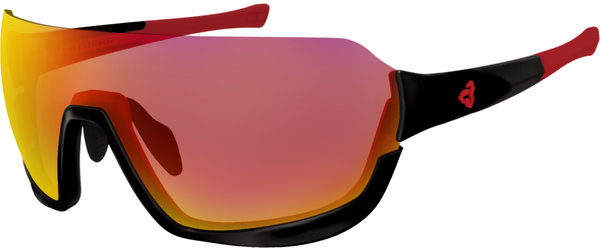 Ryders Eyewear Roam Color | Lens: Black w/Red | FYRE Pink – Purple w/Red MLV
