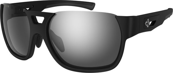 Ryders Eyewear Rotor Color | Lens: Black | Standard Grey w/Silver Flash
