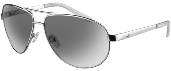 Ryders Eyewear Spitfire Color | Lens: Chrome | Polarized Grey Gradient w/Silver Flash