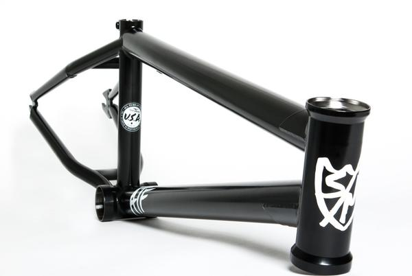 S & M Bikes ATF Frame (18-Inch Wheel) Color: Matte Black