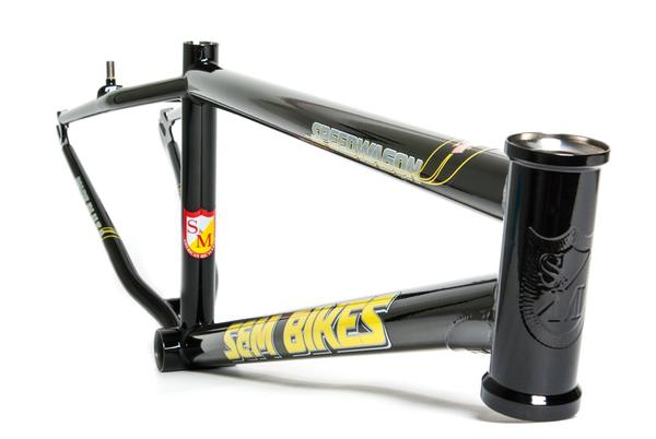 S & M Bikes Speedwagon Cruiser Frame Color: Gloss Black