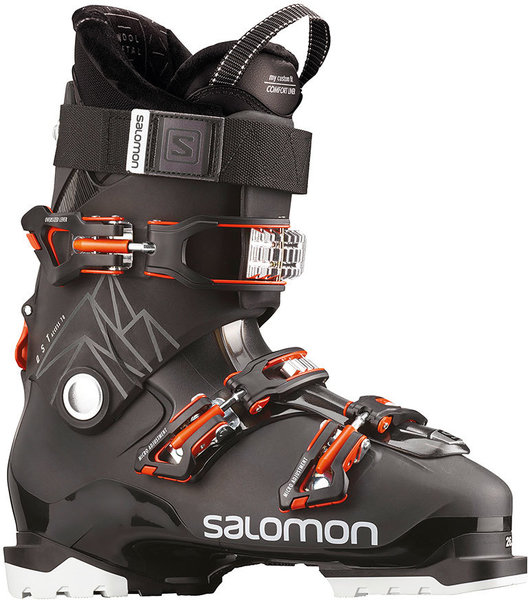 Salomon QST Access 70 Color: Black/Anthracite Translucent/Orange