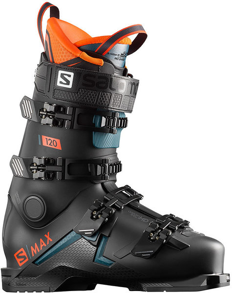 Salomon S/MAX 120 Color: Black/Orange