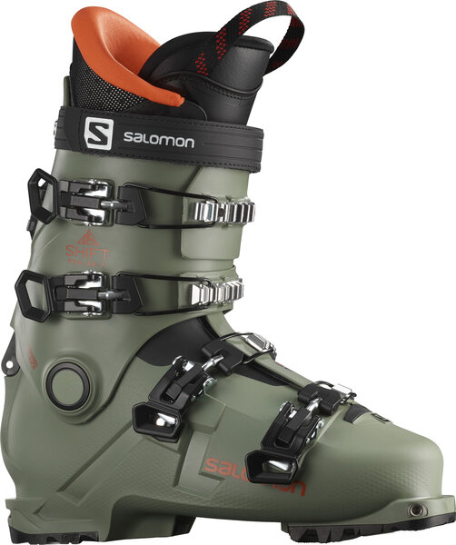 Salomon Shift Pro 80T AT Color: Oil Green/Black/Orange