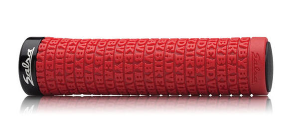 Salsa Backcountry Lock-On Grips Color: Red