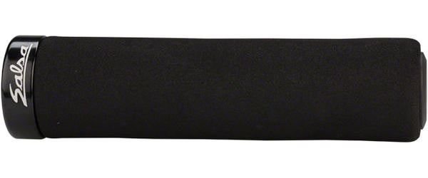 Salsa Fat Foam Grips Color: Black