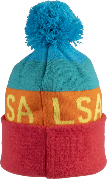 Salsa Beargrease Block Fade Pom Beanie