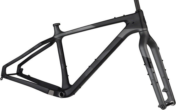 Salsa Beargrease Carbon Frameset Color: Black