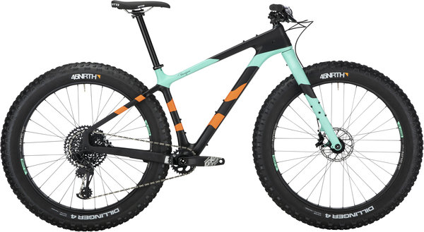 Salsa Beargrease Carbon GX Eagle Color: Black