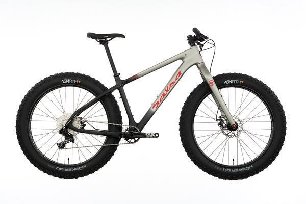 Salsa Beargrease Carbon NX1 Color: Raw Carbon/Gray Fade