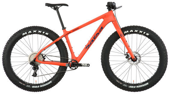 Salsa Beargrease Carbon NX1 Color: Orange Red