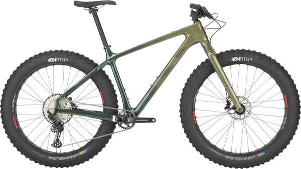 Salsa Beargrease SLX Color: Green Fade