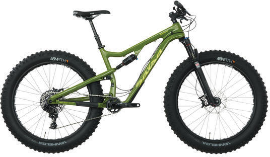 Salsa Bucksaw Carbon GX1 Color: Green