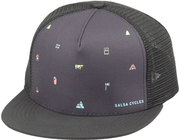 Salsa Camp Icons Trucker Hat