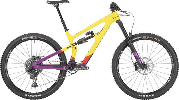 Salsa Cassidy Carbon GX Eagle Color: Yellow/Purple