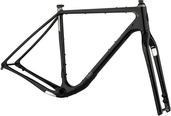 Salsa Cutthroat Frameset Color: Black