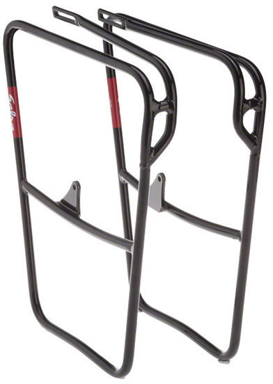 Salsa Down Under HD Front Rack Color: Black