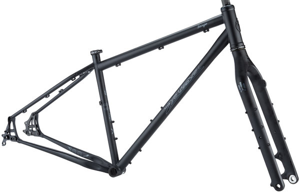 Salsa Fargo Frameset Color: Black