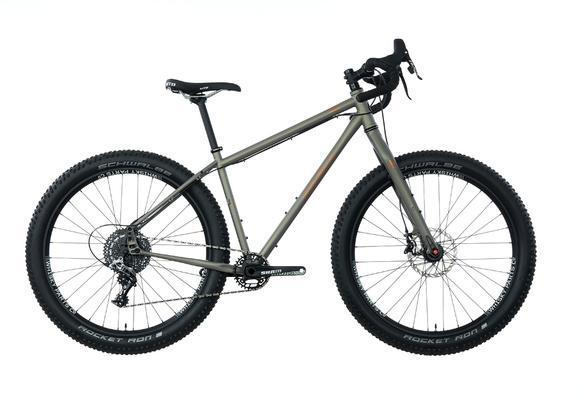 Salsa Fargo Rival 27.5+ Color: Warm Gray