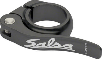 Salsa Flip-Lock Seat Clamp Color: Black