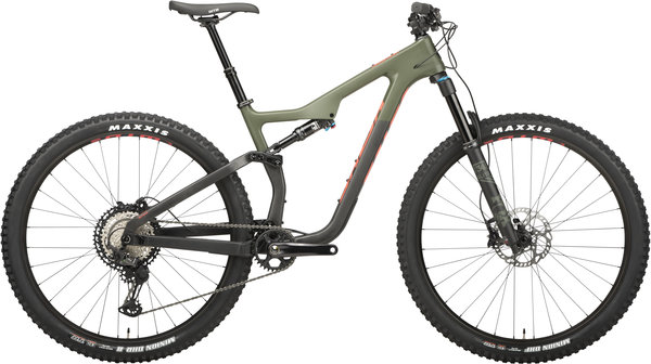 Salsa Horsethief Carbon XT Color: Green/Raw