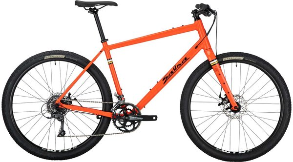 Salsa Journeyman Flat Bar Claris 650 Color: Orange