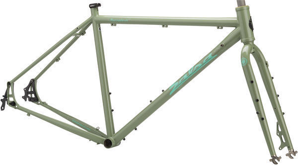 Salsa Marrakesh Flatbar Frameset Color: Grey