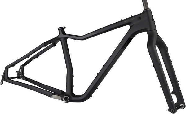 Salsa Mukluk Carbon Frameset Color: Black