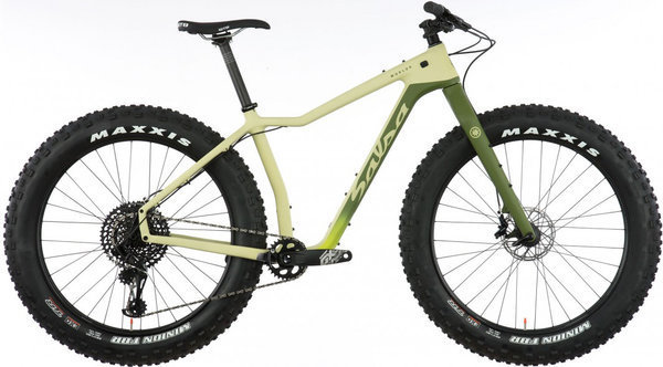 Salsa Mukluk Carbon GX Eagle Color: Sand/Green