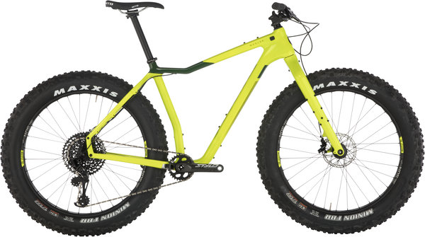 Salsa Mukluk Carbon GX Eagle Color: Lime Green