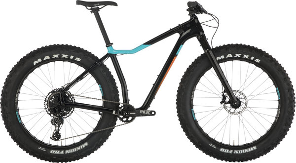 Salsa Mukluk Carbon NX Eagle Color: Raw Carbon