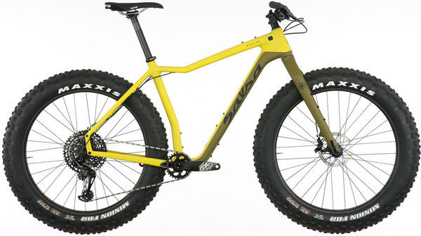 Salsa Mukluk Carbon X01 Eagle Color: Citron/Olive
