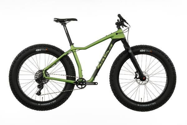 Salsa Mukluk Carbon X1 Color: Black/Green