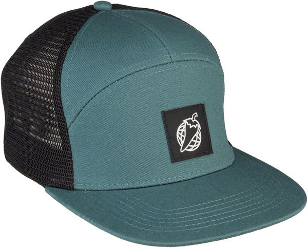 Salsa Pepper Globe Trucker Hat Color: Green/Black
