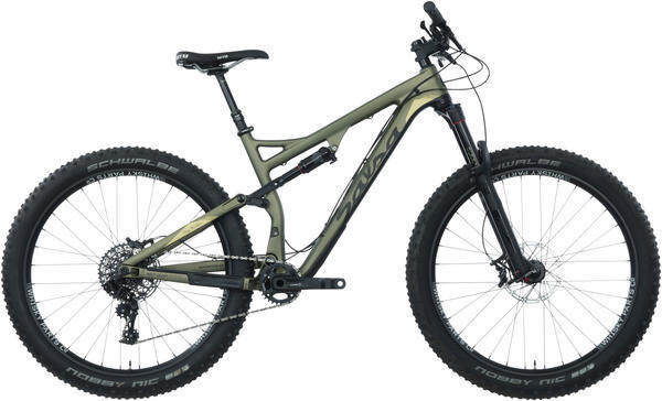 Salsa Pony Rustler Carbon GX1 Color: Dark Green