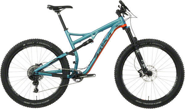 Salsa Pony Rustler GX1 Color: Light Blue