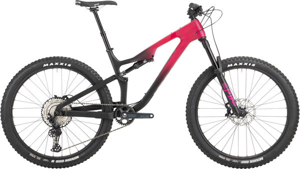 Salsa Rustler Carbon SLX Color: Pink/Black Fade