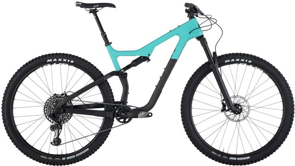 Salsa Horsethief Carbon GX Eagle Color: Teal/Raw Carbon