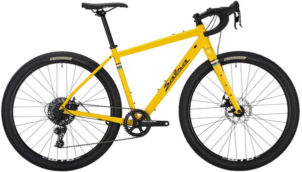Salsa Journeyman Apex 1 650 Color: Yellow