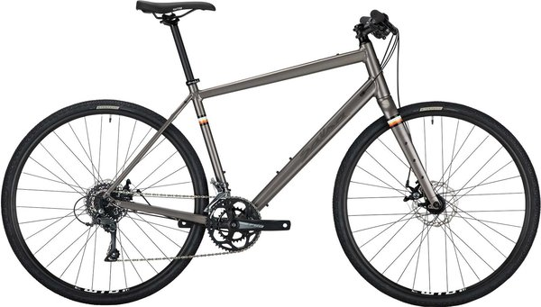 Salsa Journeyman Flat Bar Claris 700 Color: Gray