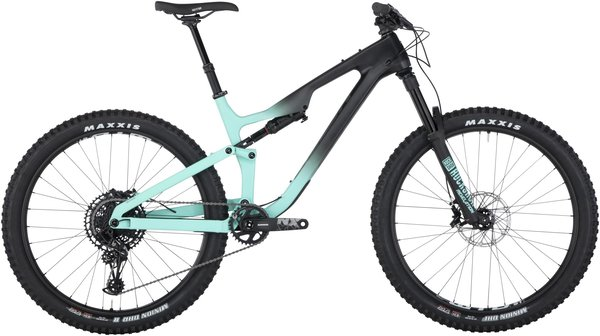 Salsa Rustler Carbon NX Eagle Color: Black/Blue Fade