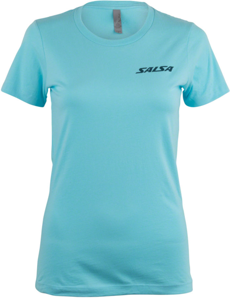 Salsa Summit T-Shirt Color: Light Blue