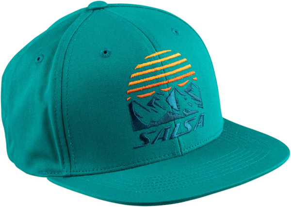 Salsa Summit Trucker Hat Color: Blue Spruce