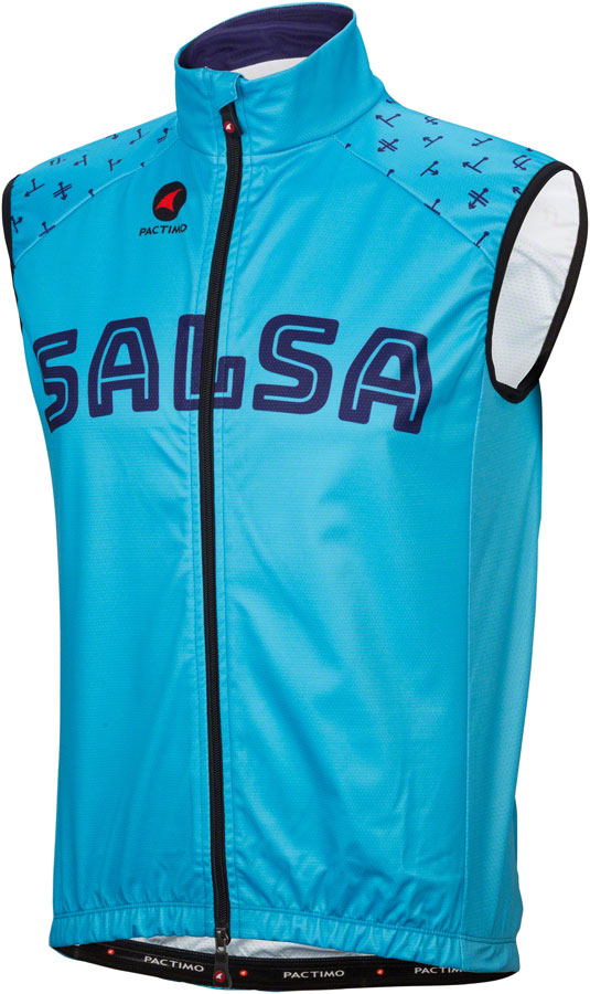Salsa Team Kit Vest Color: Light Blue/Dark Blue