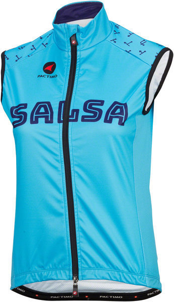 Salsa Team Kit Women's Vest Color: Light Blue/Dark Blue