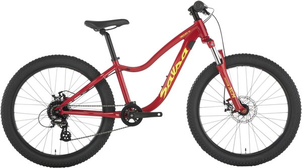 Salsa Timberjack 24 SUS Color: Red
