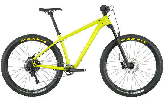 Salsa Timberjack SLX 1x11 27.5+ Color: Lime